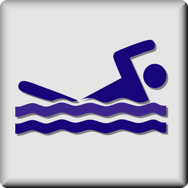Olympic swimming pool clipart