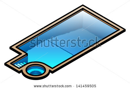 Swimming Pool Vector | Clipart Panda - Free Clipart Images