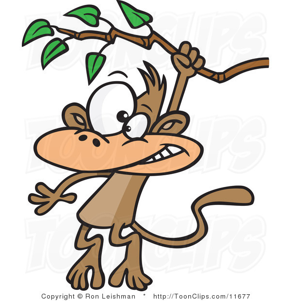 Swinging monkey clipart sexy