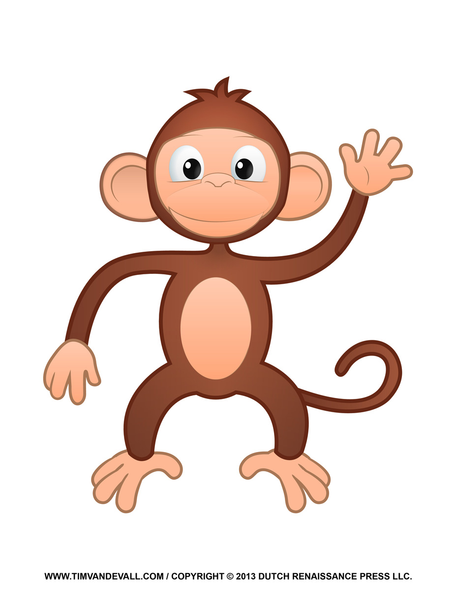 Monkey In A Tree Clipart | Clipart Panda - Free Clipart Images