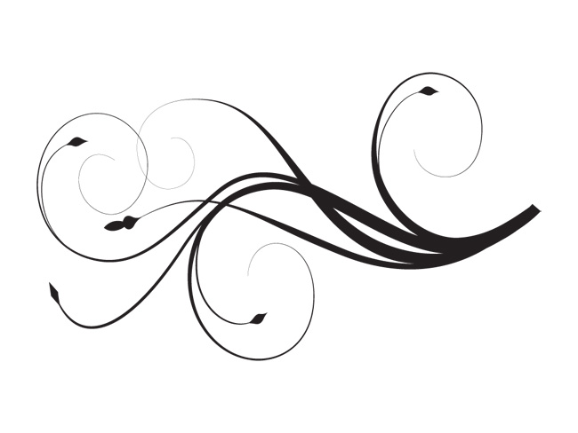 Swirl Art Designs : Swirl designs png clipart panda free images