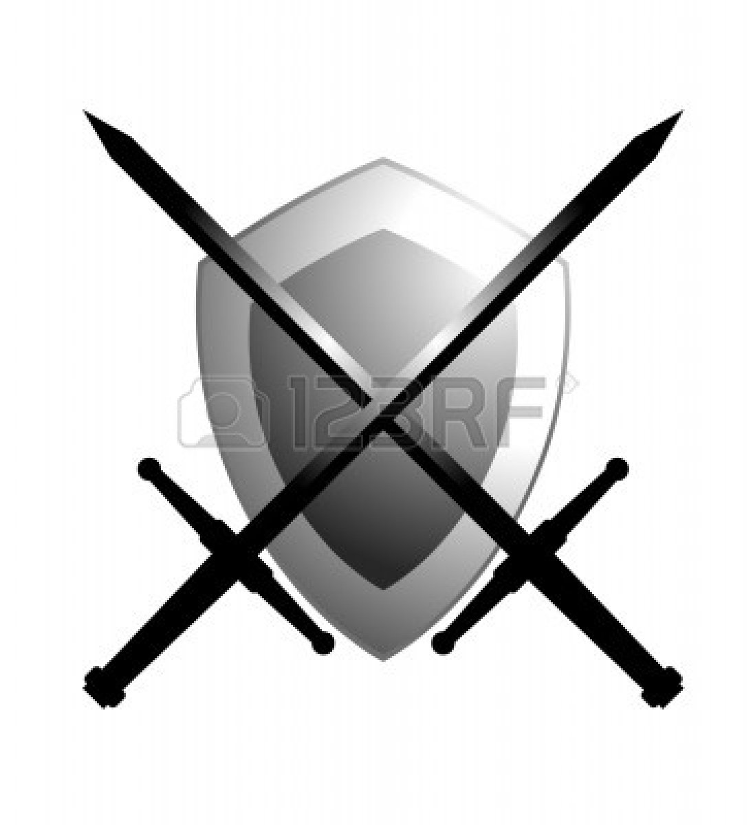 Shield outline coat arms clipart panda free clipart images - Sword 20and 20shield 20clipart