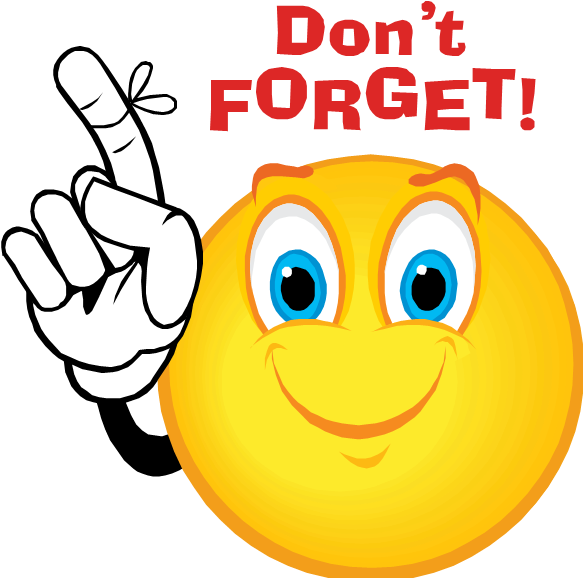 Friendly Reminder Clipart Reminder clip art png