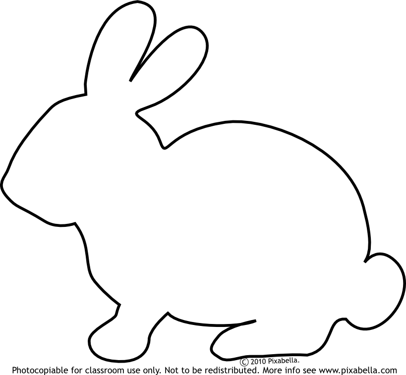 bunny clipart black and white clipart panda free clipart images. Black Bedroom Furniture Sets. Home Design Ideas