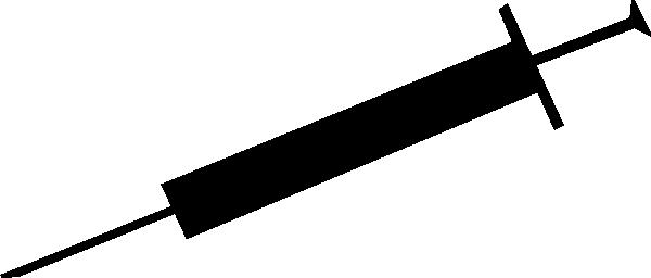 Syringe clip art - vector clip