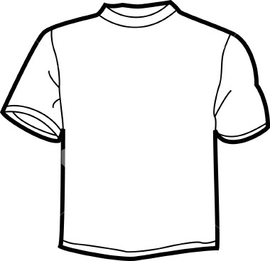 T Shirt Clip Art Black And White | Clipart Panda - Free ...