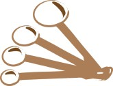 Measuring Spoons Clipart | Clipart Panda - Free Clipart Images