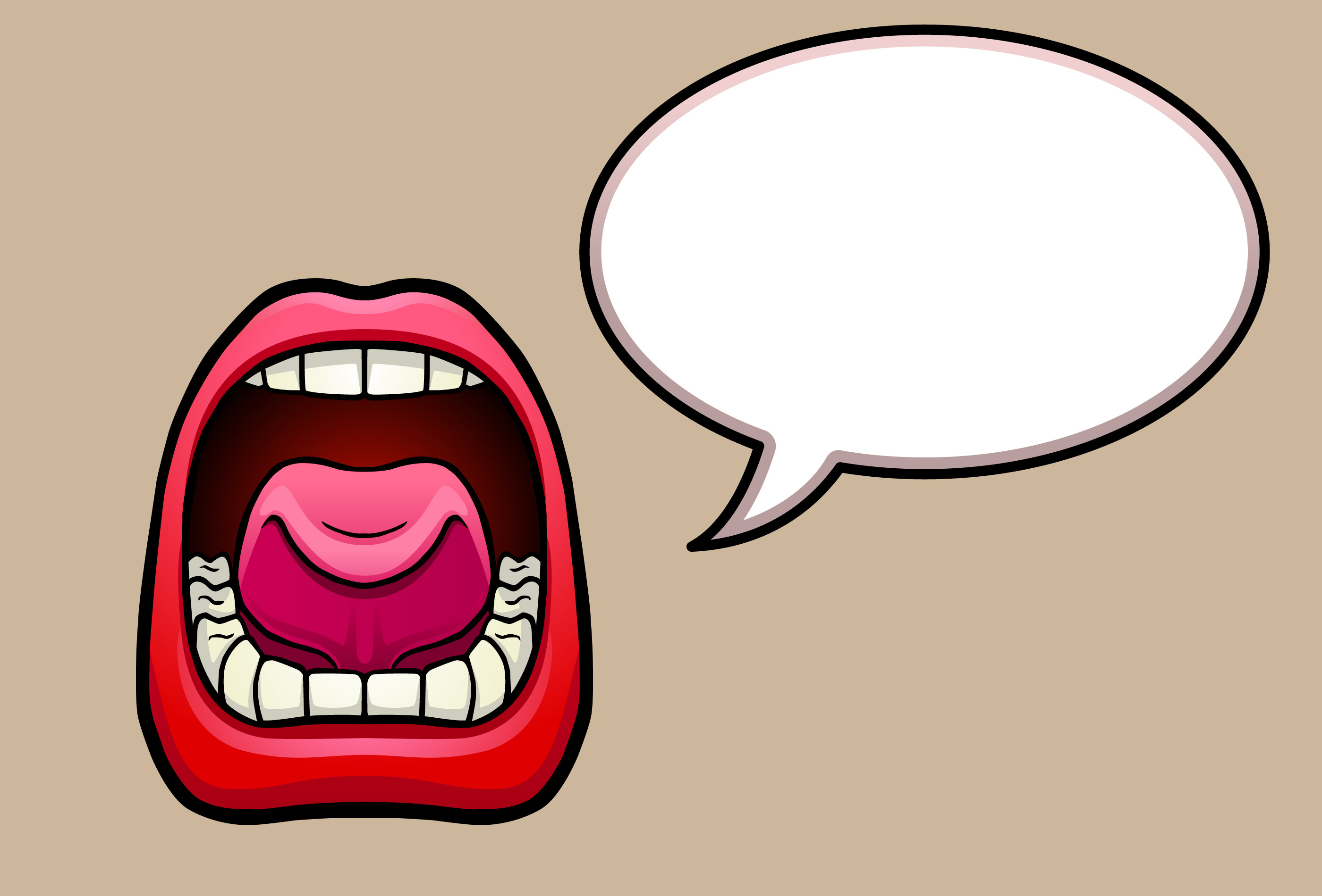 Talking Mouth Clip Art | Clipart Panda - Free Clipart Images