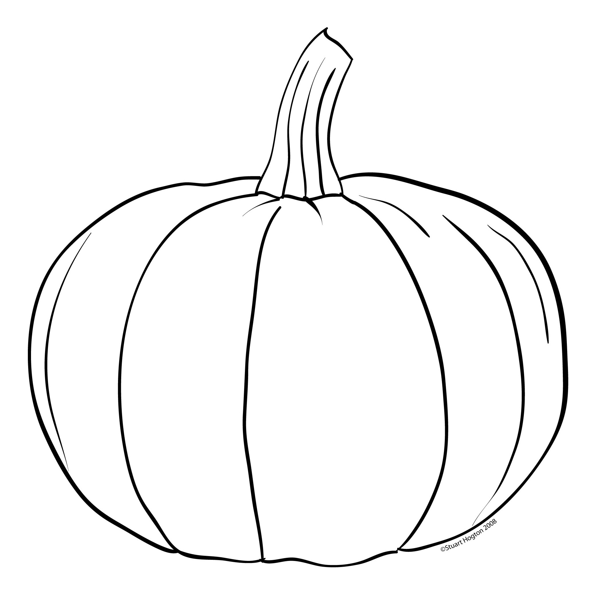 Pumpkins printable clipart for Pumpkin coloring pages for adults