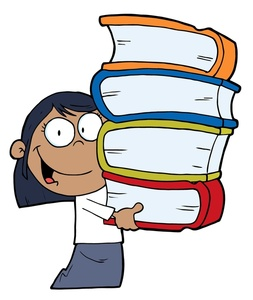 tall stack of books clip art clipart panda free