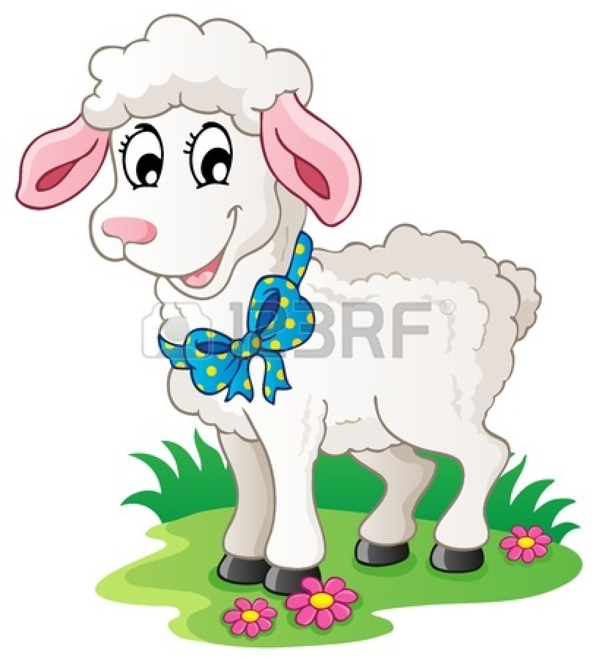 tame : Cute cartoon lamb | Clipart Panda - Free Clipart Images