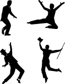 Male Tap Dancer Silhouette | Clipart Panda - Free Clipart ...
