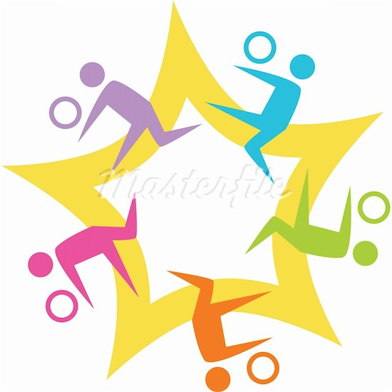 Sports Teamwork Clip Art