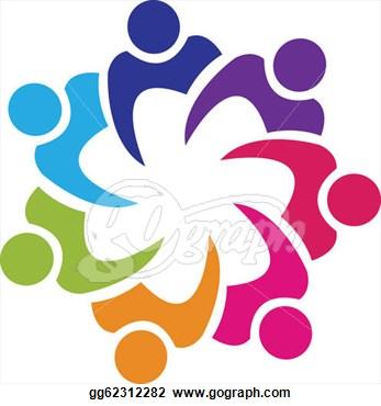 Teamwork Logo Clip Art