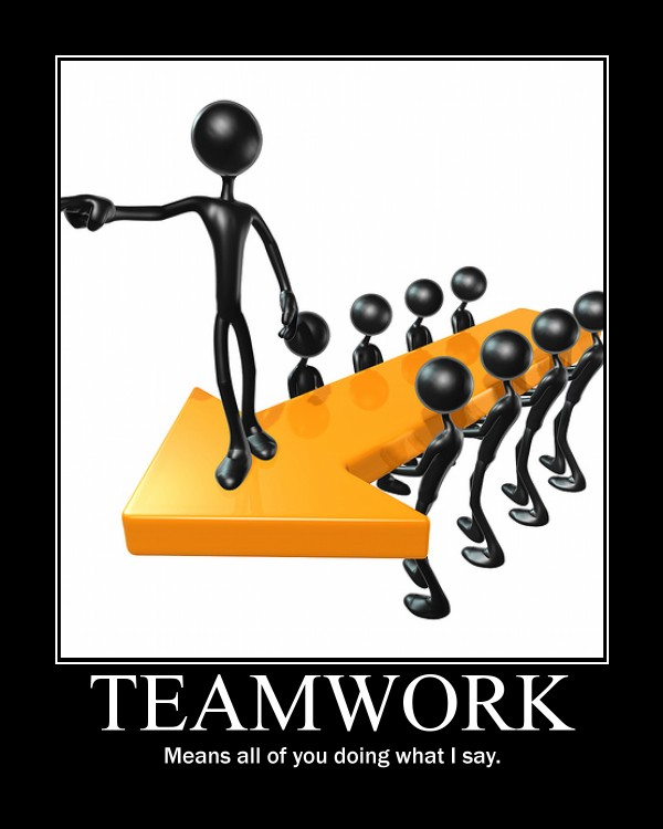 Teamwork Motivational Poster | Clipart Panda - Free Clipart Images