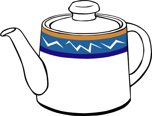 15 tea pot clip art.