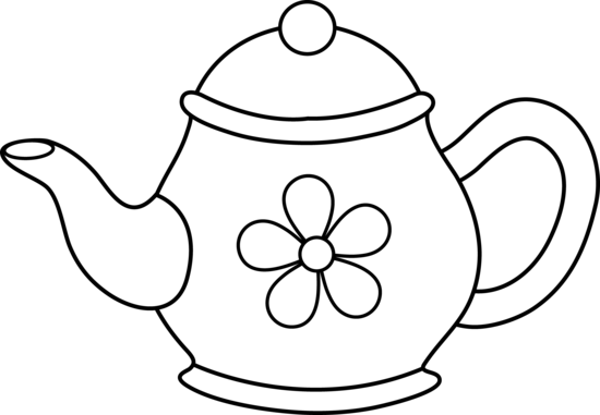 teapot clipart black and white clipart panda free clipart images rh clipartpanda com Teapot Outline Clip Art free clip art teapot and cup
