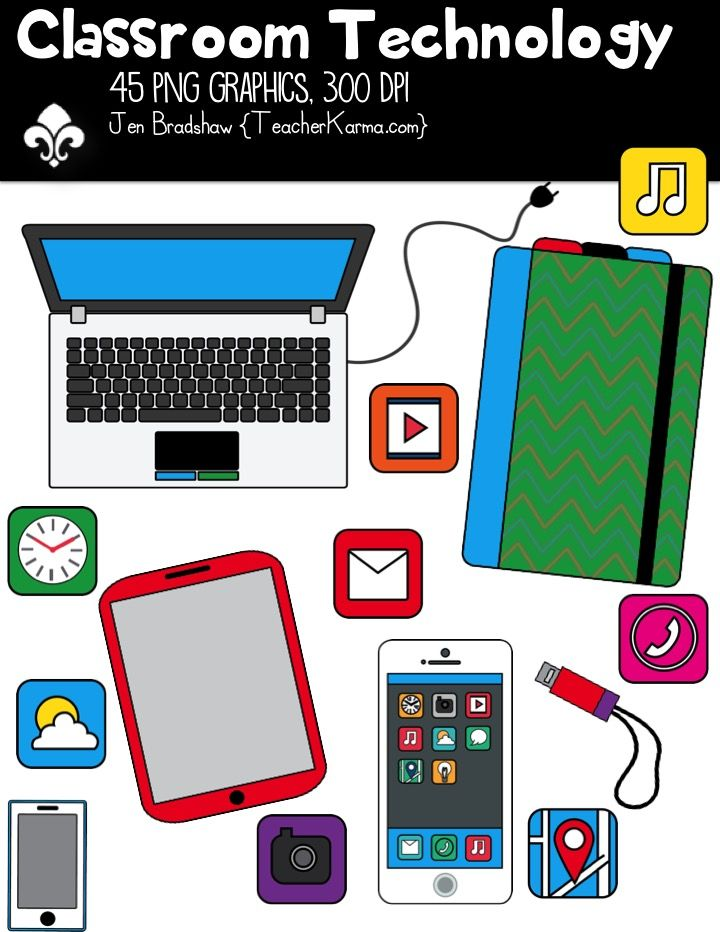 technology clipart classroom cliparts teacher education teachers clip commercial library ok laptop pay schools smartphone these educational graphics clipartfest apps