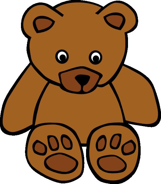 Bear simple. Teddy clip art clipart