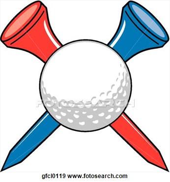 Classic Golf Tee Clipart Golf Ball On Tee Clipart