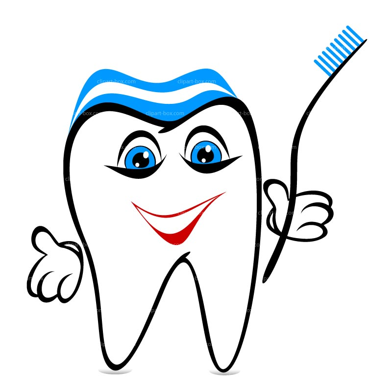 clipart picture of a tooth - photo #11
