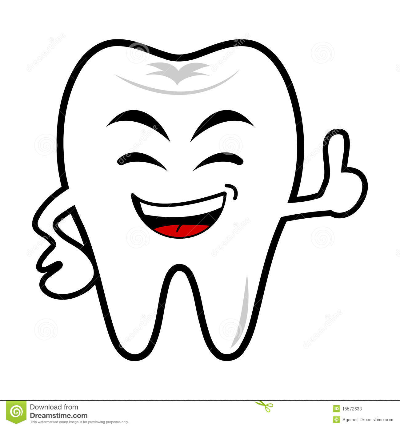 clipart picture of a tooth - photo #49