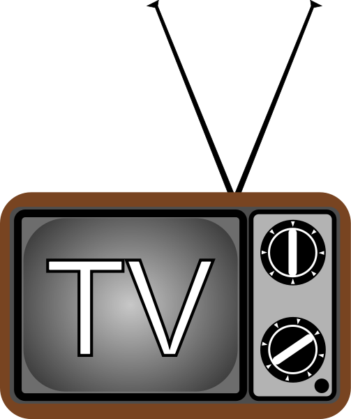 Television Clipart | Clipart Panda - Free Clipart Images
