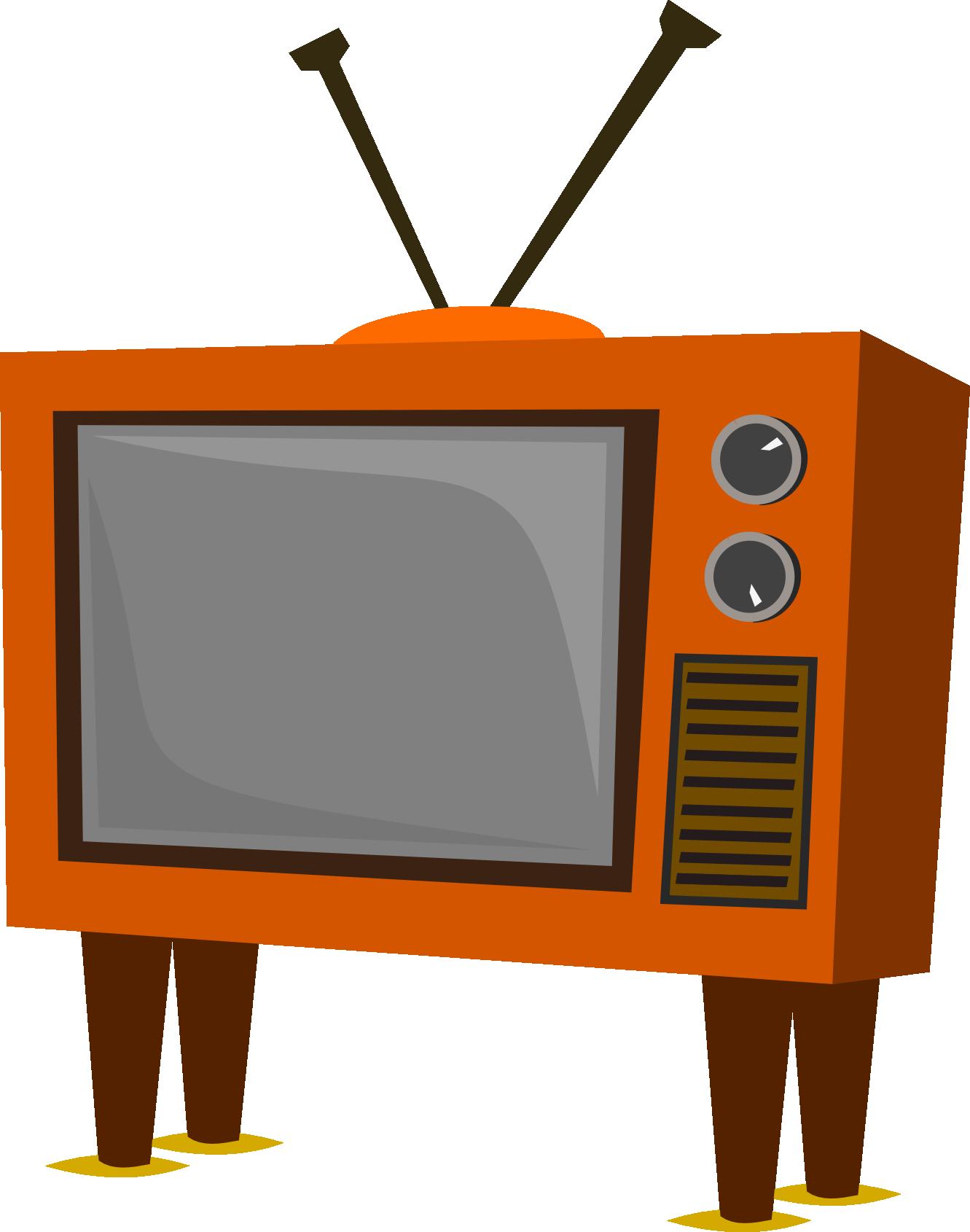 Image result for retro TV clipart