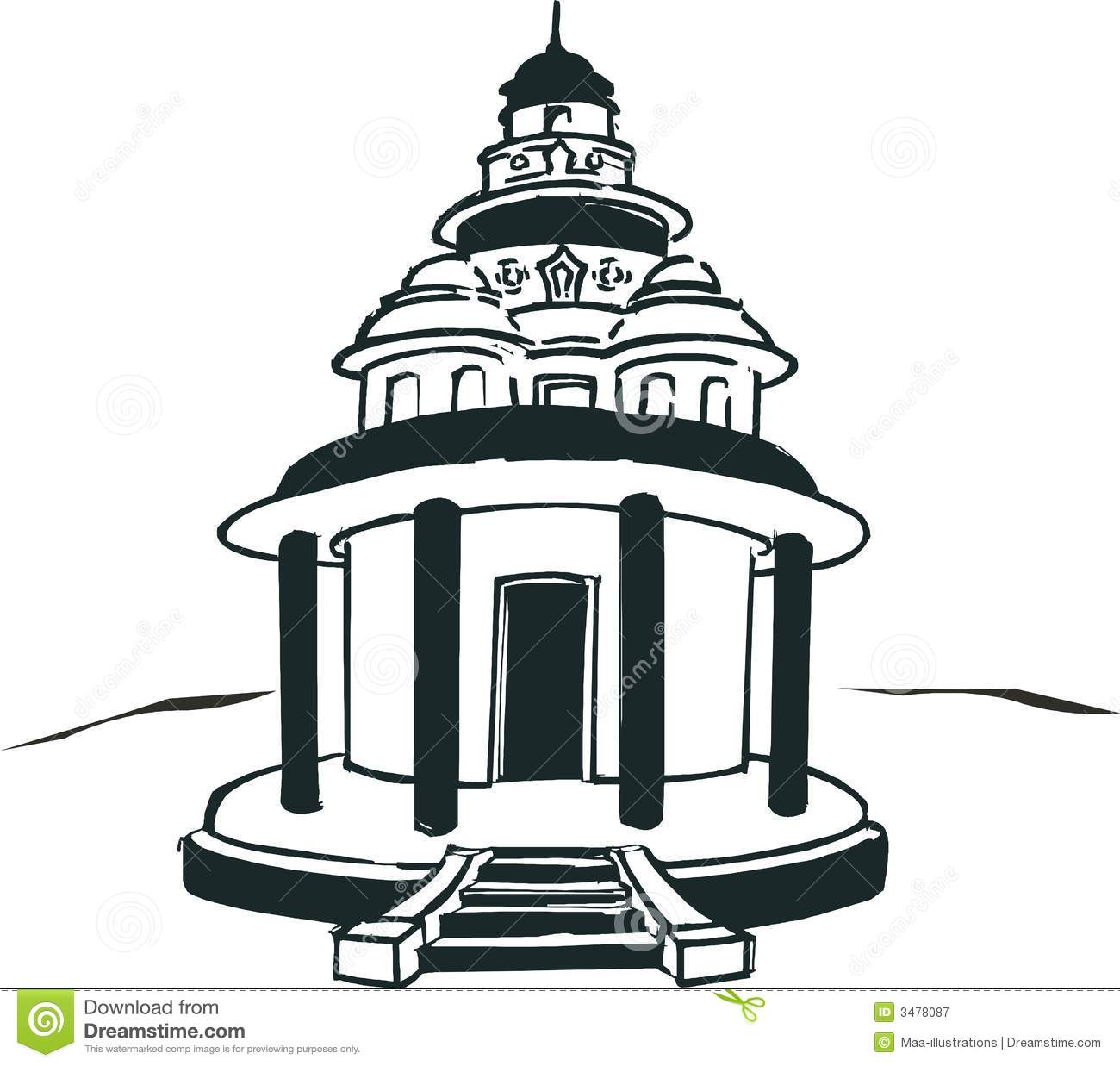 Temple Clipart - Tumundografico