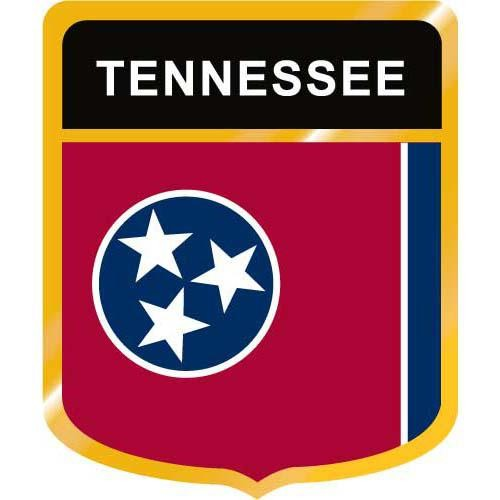 Tennessee Flag Crest Clip Art
