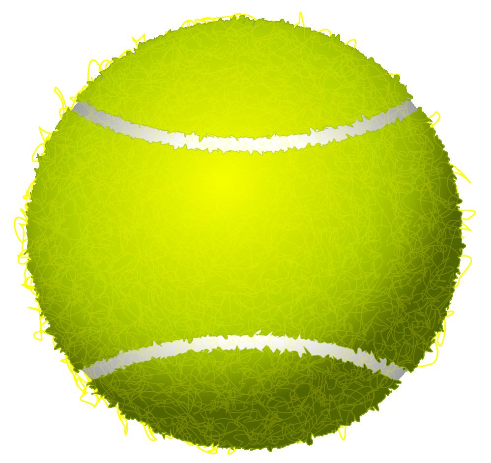 Tennis Ball And Racket Clip Art Clipart Panda Free