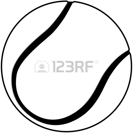 Tennis Ball Outline | Clipart Panda - Free Clipart Images