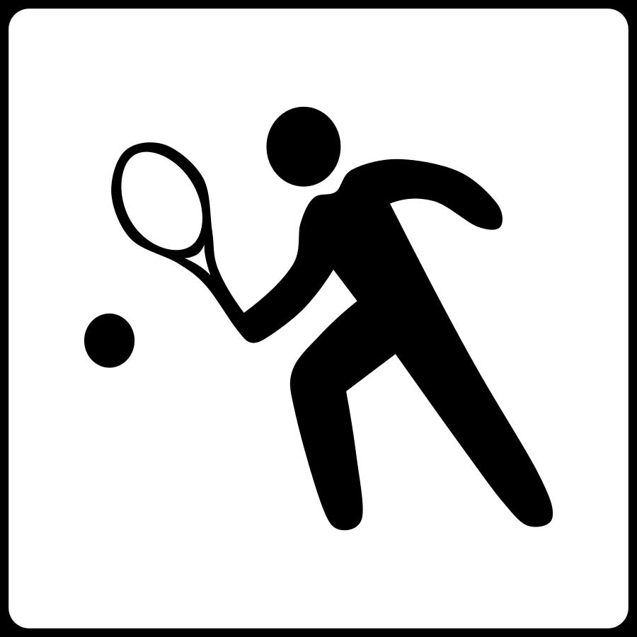 clipart panda tennis - photo #5