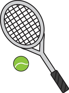 tennis racket clipart clipart panda free clipart images rh clipartpanda com tennis racquet clipart free tennis racket clipart black and white