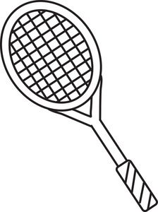 tennis racket clipart black and white clipart panda free clipart rh clipartpanda com tennis racquet clip art free tennis racquet clip art free