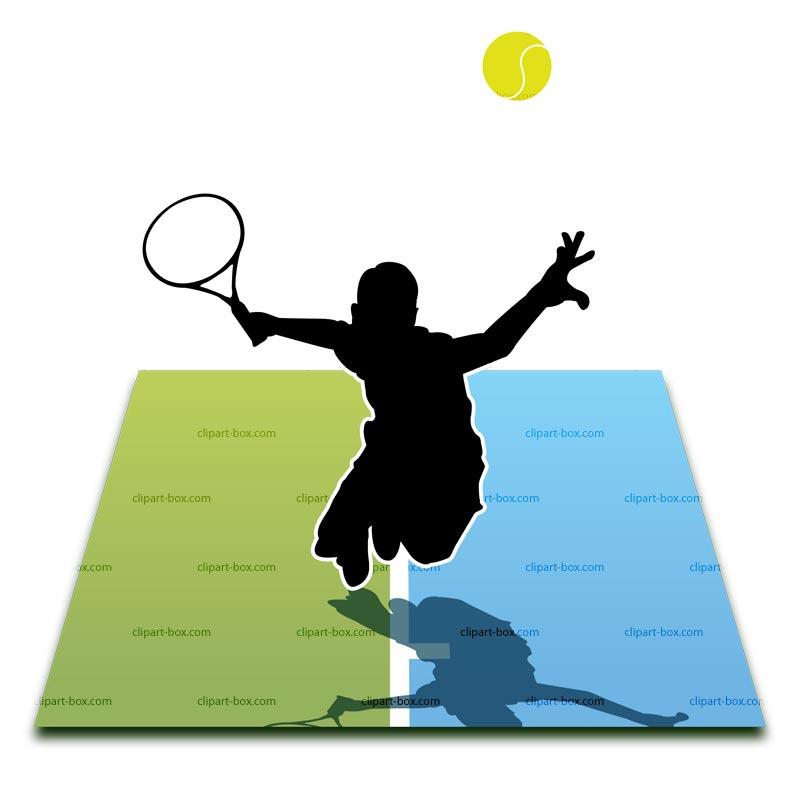 clipart panda tennis - photo #10