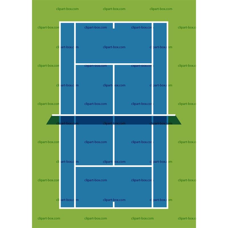 Tennis Court Clipart Clipart Panda Free Clipart Images
