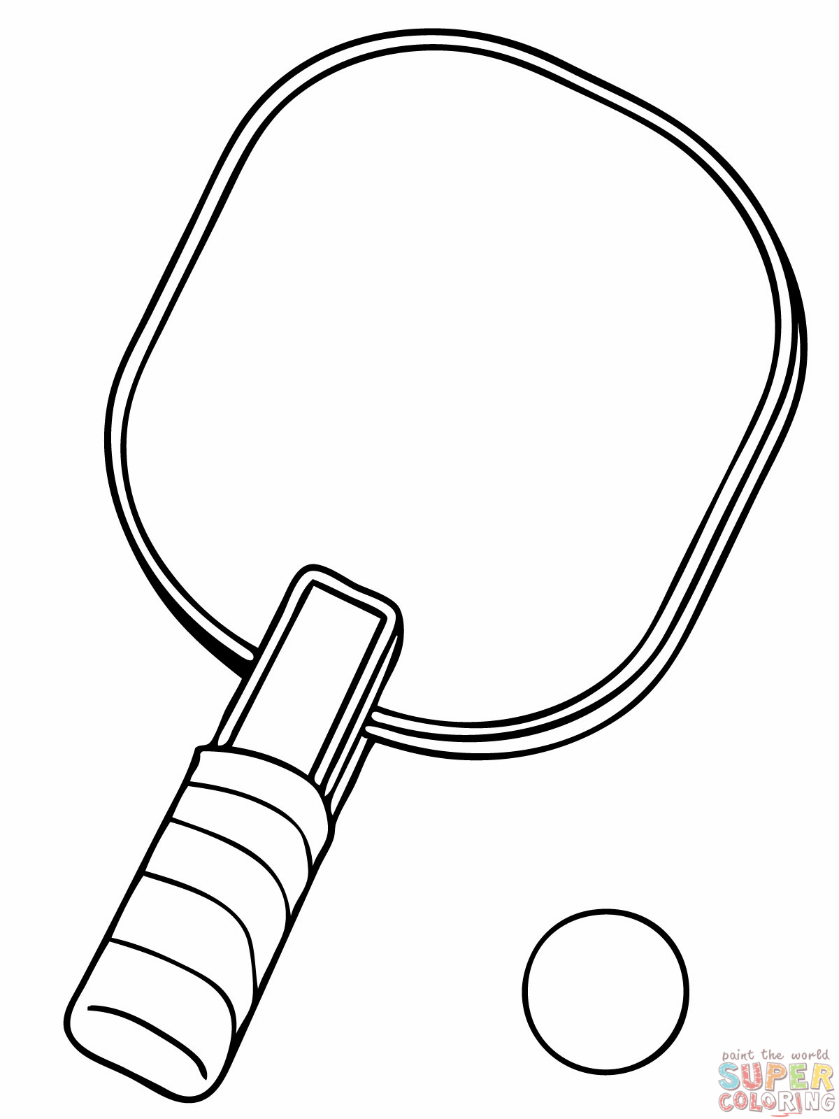 tennis racket coloring page clipart panda free clipart