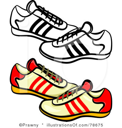tennis shoes clipart black and white clipart panda free clipart rh clipartpanda com running shoes clip art free hanging running shoes clipart