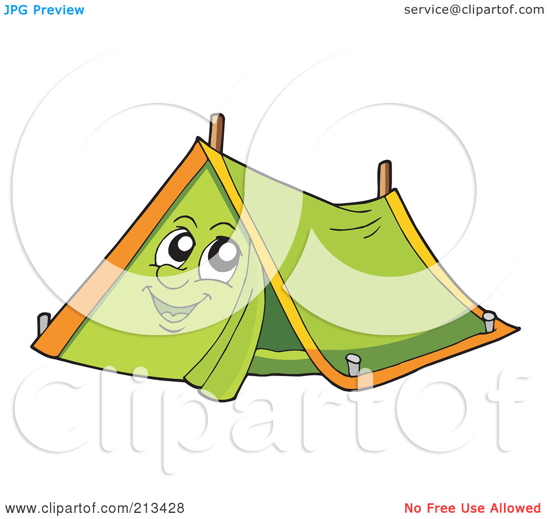 Camping Tent Clipart Black And White | Clipart Panda - Free Clipart Images