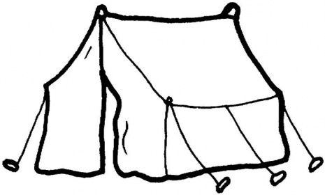 Tent Clip Art Pattern