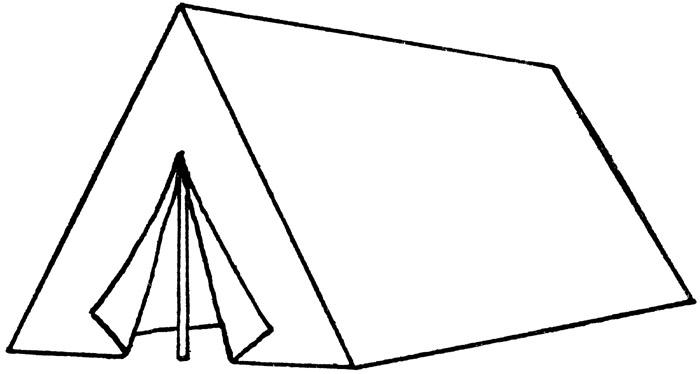 tent clipart
