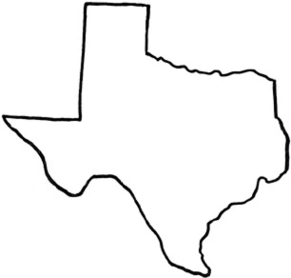 Texas Outline Clipart   Clipart Panda - Free Clipart Images