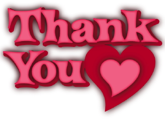 thank you heart clip art clipart panda free clipart images rh clipartpanda com thank you clipart pretty thank you clip art animation