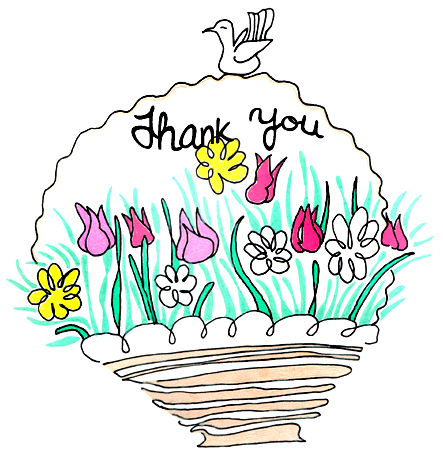 thank you clip art clipart panda free clipart images rh clipartpanda com clip art thank you flowers clip art thank you flowers