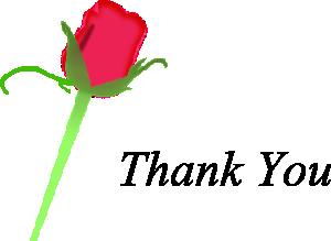 thank you flowers clipart clipart panda free clipart images rh clipartpanda com Religious Thank You Designs Gratitude Thank You Clip Art