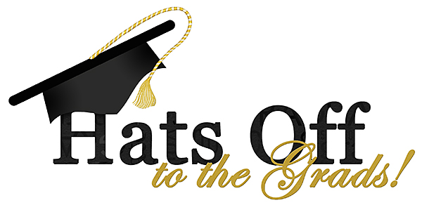 Graduation Word Art Hair – Smoke and Strawberries  |Word Art For Graduation