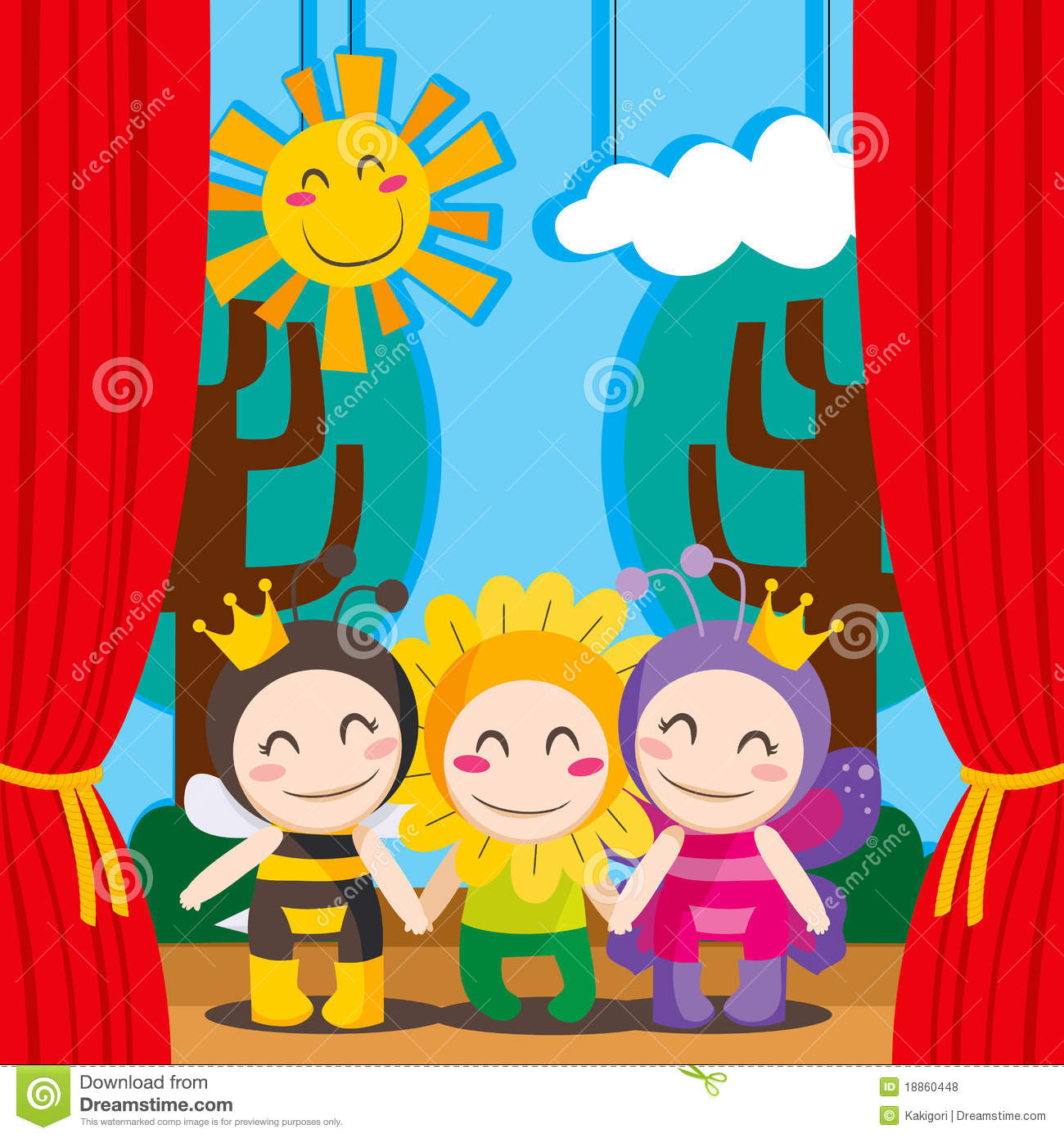 Image Result For Theatre Curtains Clipart