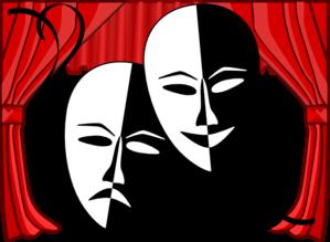 theatre masks clip art clipart panda free clipart images rh clipartpanda com theatre masks clip art black and white