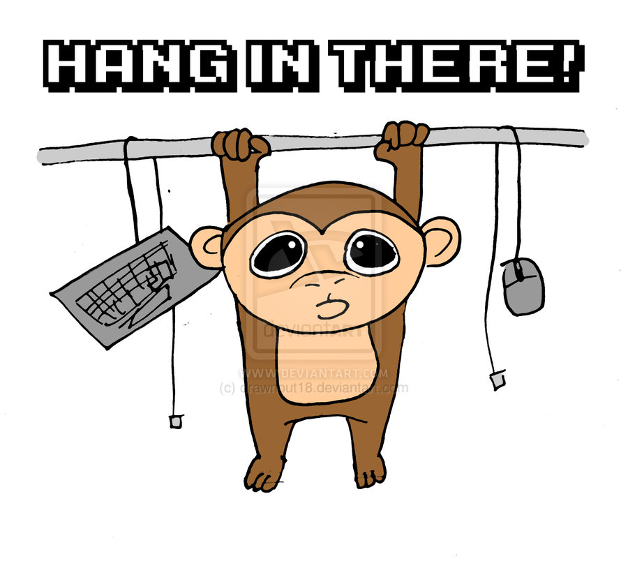 Clip Art Hang In There Clipart there clipart panda free images